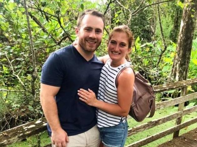 Love in the Air at Corkscrew Swamp