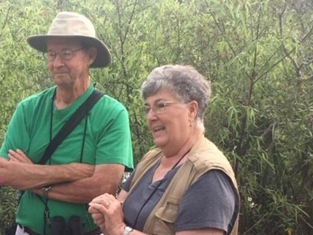 Corkscrew's Stilwells are Audubon Florida's Top Volunteers