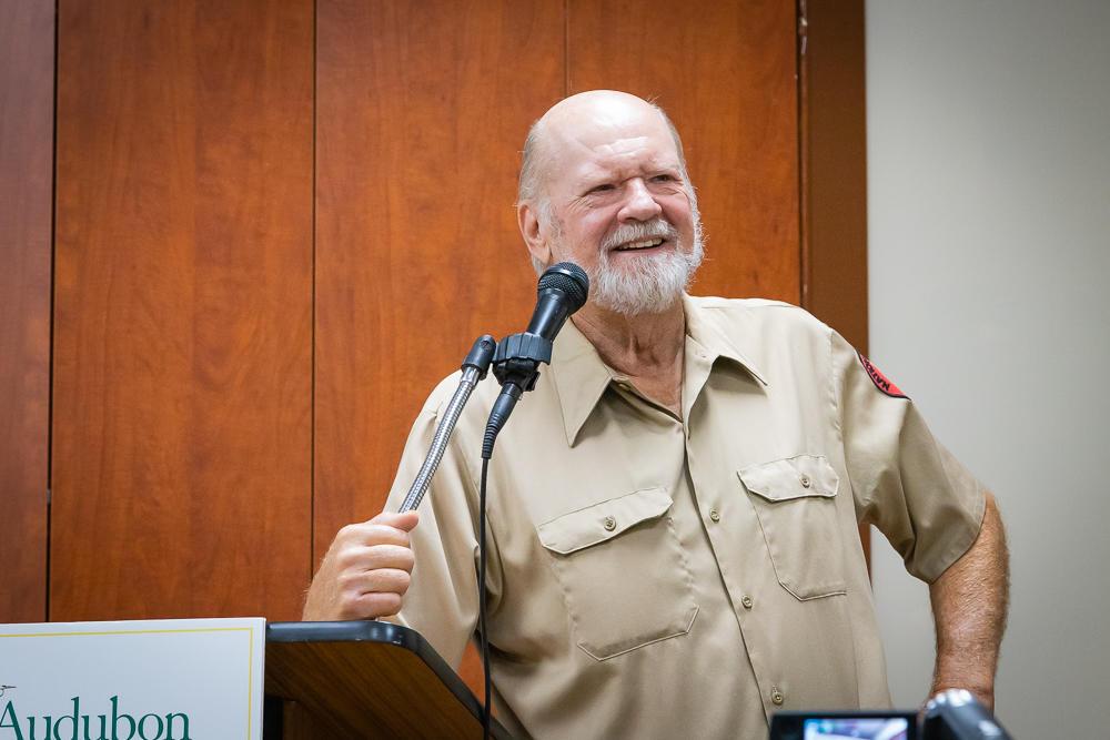 Ed Carlson speaking