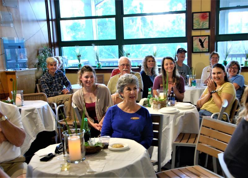 Guests at the Volunteer Appreciation Dinner