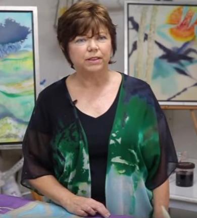 Artist Leigh Herndon