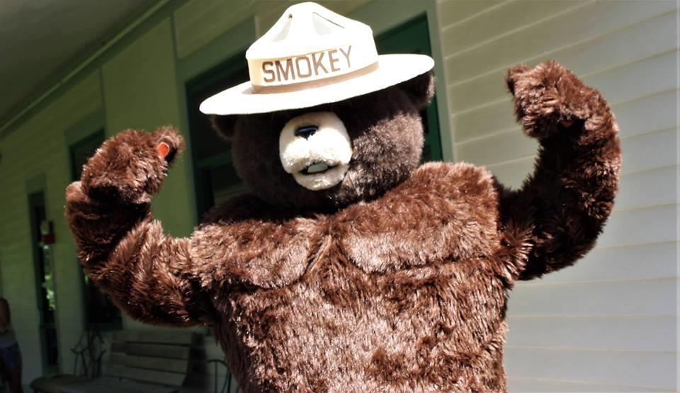 Smokey Bear is on the guest list